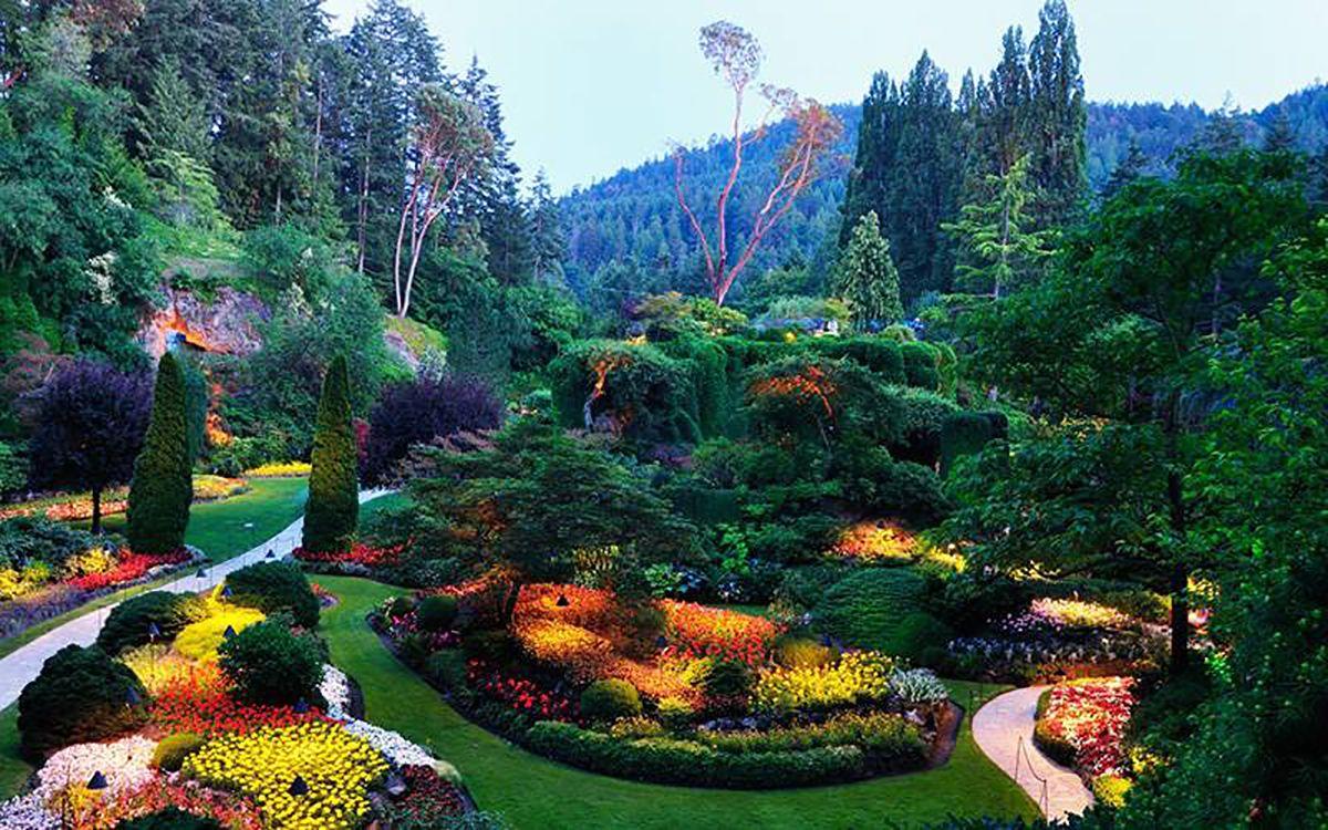jardín en Canadá